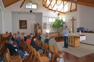Innenraum ev. Kirche in Buchholz